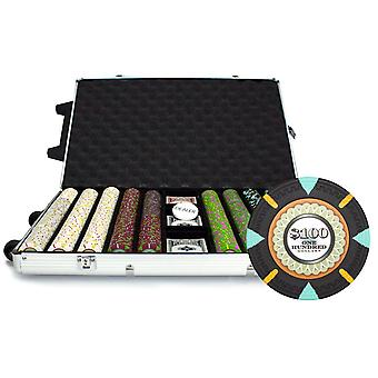 1000Ct Claysmith Gaming 'The Mint' Chip Set in Rolling