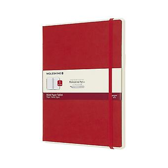 Papertablet P Ruled Red Hard 01 Xl