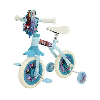 Disney Frozen 2 Ten Inch 2 em 1 Training Bike