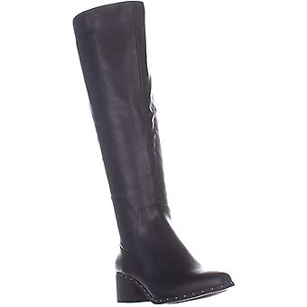 Bar III Womens gable Fabric Almond Toe Knee High Fashion Boots