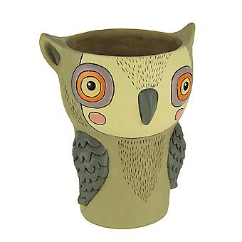 Allen progetta Hootie gufo Indoor / Outdoor Planter