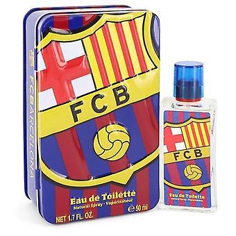 Fc barcelona eau de toilette spray by air val international 543037 50 ml
