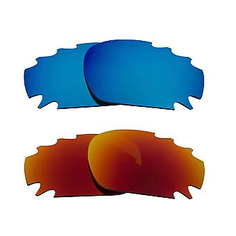 Replacement Lenses for Oakley Racing Jacket Sunglasses Multi-Color Anti-Scratch Vented UV400 by SeekOptics