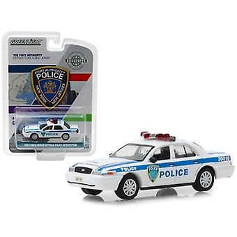 2003 Ford Crown Victoria Police Interceptor Port Authority of New York & New Jersey Police Hobby Exclusive 1/64 Diecast Model Car by Greenlight