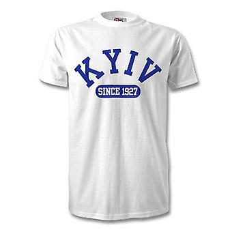 Dynamo Kiova perustettu 1927 jalkapallo t-paita