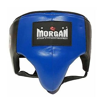 Morgan Platinum Leather Abdo Guard Medium