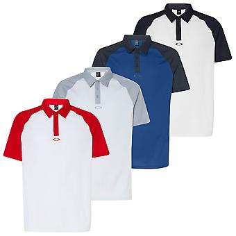 Oakley Mens 2020 Traditional Breathable Comfort Golf Polo Shirt