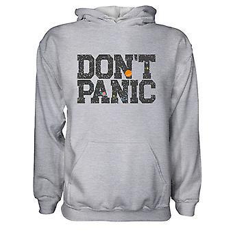 Herre Sweatshirts Hættetrøje- Don't Panic