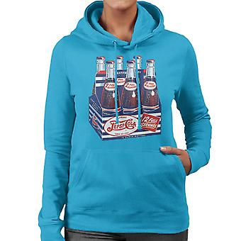 Pepsi Cola Retro Bottle Crate Women's Hooded Sweatshirt