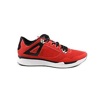 Jordan Men's 89 Racer Shoes (12, Red/Black)