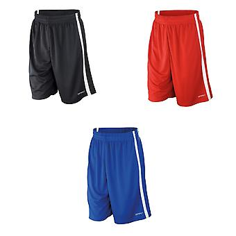 Spiro Mens Quick Dry Short da basket