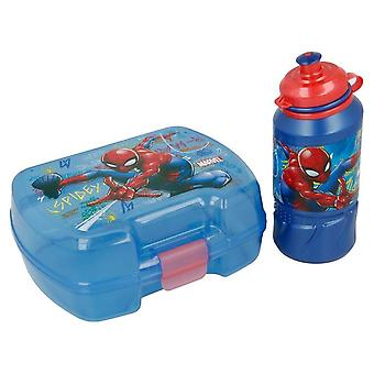 Ställ flaska och blå Spiderman Hållare