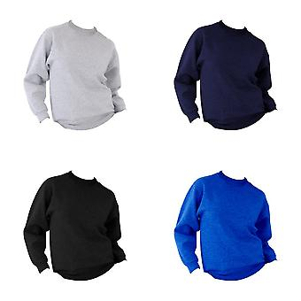 UCC 50/50 Mens Heavyweight Plain Set-In Sweatshirt Top