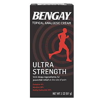 Bengay ultra strength, pain relief cream, 2 oz