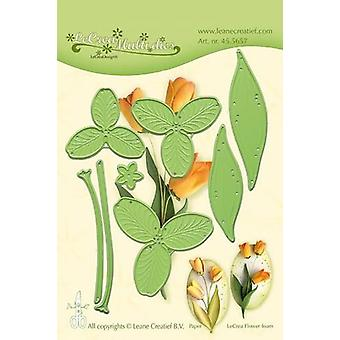 Leane Creatief Lea'bilitie Multi Die Flower 017 Tulipe 3D