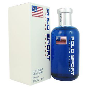 Polo sport for mænd af Ralph Lauren 4,2 ounce eau de toilette spray