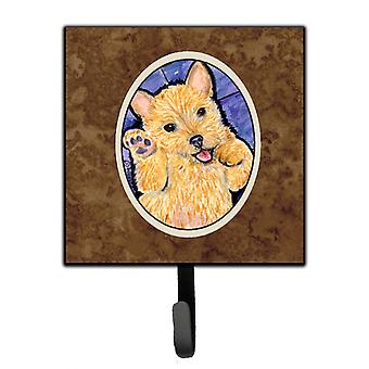 Carolines Treasures  SS8911SH4 Norwich Terrier Leash Holder or Key Hook