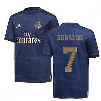 2019-2020 ריאל מדריד אדידס החולצה משם (ילדים) (רונאלדו 7)