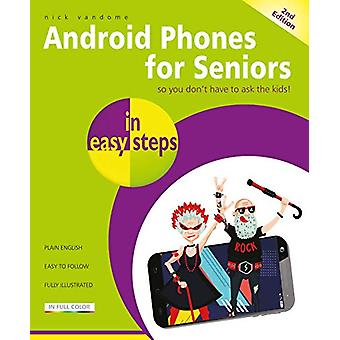 Android Phones for Seniors in easy steps - Updated for Android v7 Noug