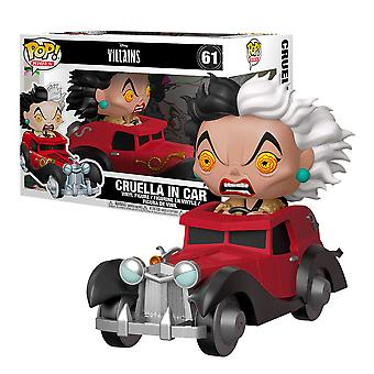 101 Dalmatians Cruella in Car US Exclusive Pop! Ride