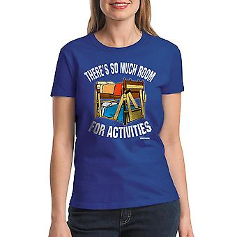 Step Brothers So Much Room Women's Royal Blue T-shirt
