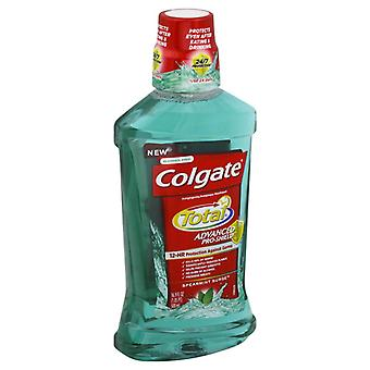 Total de Colgate advanced pro-bouclier rince-bouche, surtension de menthe verte, 16,9 oz