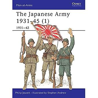 The Japanese Army: 1931-1942 Pt.1 (Men-at-arms)