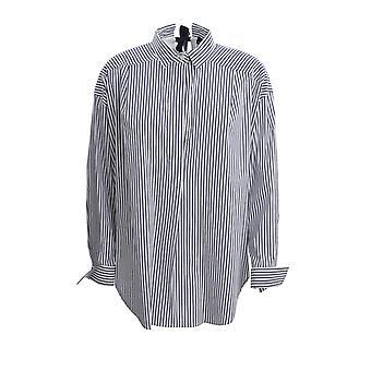 Ermanno Scervino Cm32rig36810 Women's Blue Cotton Shirt