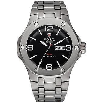V.O.S.T. Germany V100.017 Titanium automatic men's watch 44mm
