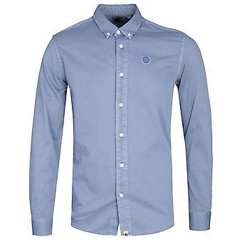 Ganska grön klassisk passform blå Edward skjorta