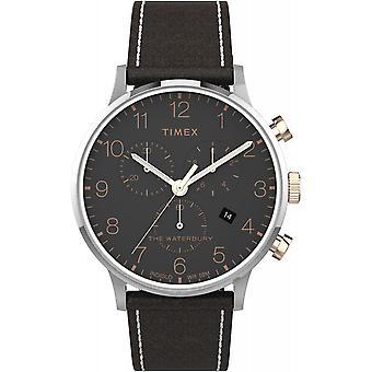 montre Timex montres Waterbury Classic Chrono TW2T71500 - montre  Homme