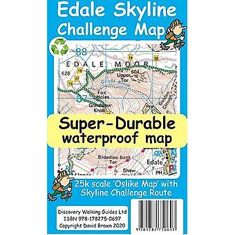 Edale Skyline Challenge Kartta David Brawn - 9781782750697 Kirja