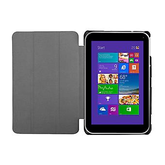 "Slim Compact PU Leather Case for Toshiba Encore 2 WT8 8""[Purple]"
