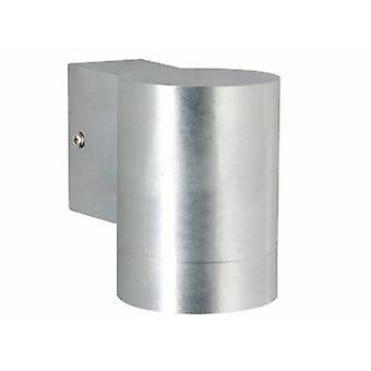 Led 1 Light Outdoor Large Downlight Galvanised Ip54