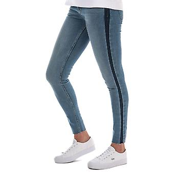 Women's Levis 710 Innovation Super Skinny Jeans in Blauw