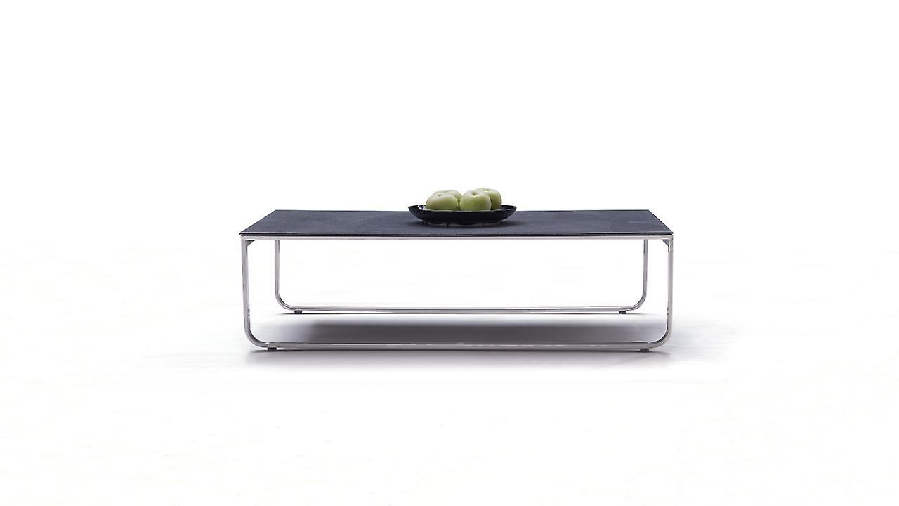 Edelstahl Tisch Valencia 100 cm - anthrazit