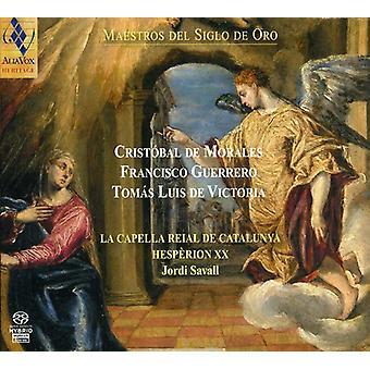 La Capella Reial De Catalunya & Jordi Savall - Maestros Del Siglo De Oro [SACD] USA import
