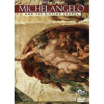 Michaelangelo & Sistine Chapel [DVD] USA import