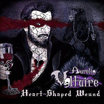 Voltaire*Aurelio - Heart-Shaped Wound [CD] USA import