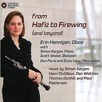 Erin Hannigan - From Hafiz to Firewing (and Beyond) [CD] USA import