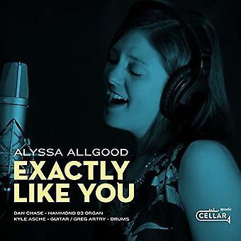 Alyssa Allgood - Exactly Like You [CD] USA import