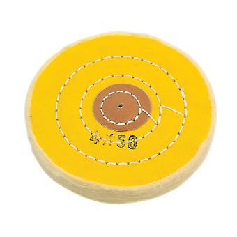 Esfregão amarelo costurado 4