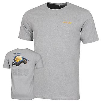 Oakley Mens Heritage O Frame Cotton Crew SS Tee T-Shirt