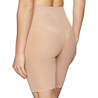 Arabella Women's Smoothing Shapewear with Thigh and Tummy Control, Nude, Medium