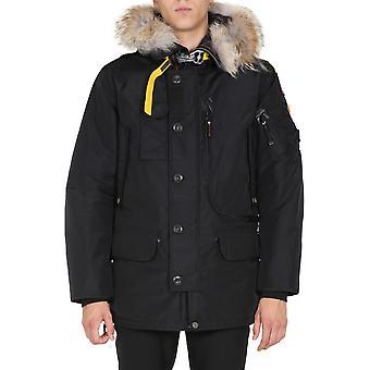 Parajumpers Pmjckma02p02541 Men's Black Nylon Outerwear Jacket