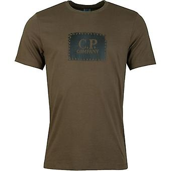 C.p Company Carbon Logo T-Shirt