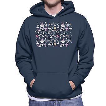 My Little Pony Castle Men's Hooded Sweatshirt