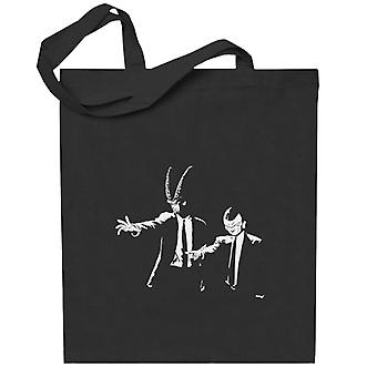 Dragon Ball Z Fiksjon Inspirert av Pulp Fiction Totebag