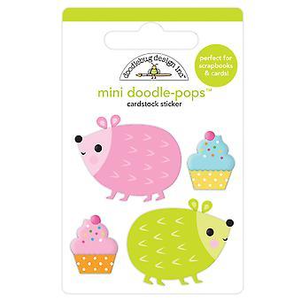 Doodlebug Design Hedge Hugs Mini Doodle-Pops