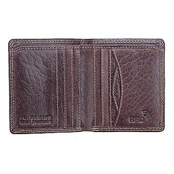 Primehide Slim Mens Leather Card Holder Wallet RFID Blocking Gents Notecase 4197